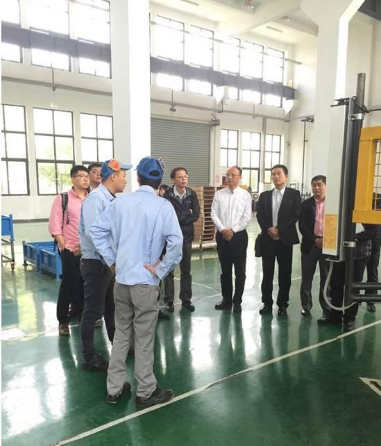 安徽机器人产业战略联盟考察日产园