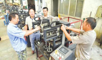 自主研发机械获国家专利